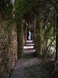 Gala - château de Dalì en Pubol, statue classique et nature photos stock