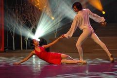 Gala classique de festival de printemps de Ballet-2007 Jiangxi photographie stock libre de droits