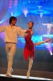 Gala classique de festival de printemps de Ballet-2007 Jiangxi photo stock