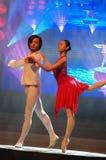 Gala classique de festival de printemps de Ballet-2007 Jiangxi photo libre de droits