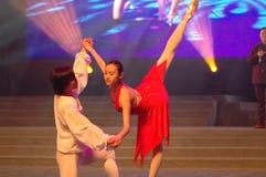 Gala classique de festival de printemps de Ballet-2007 Jiangxi photographie stock