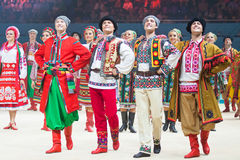 Gala Concert au championnat du monde de gymnastique rythmique Photographie stock