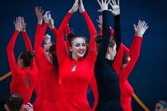 Gala Concert en el campeonato del mundo de la gimnasia rítmica Imágenes de archivo libres de regalías