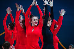 Gala Concert at Rhythmic Gymnastics World Championship Royalty Free Stock Images