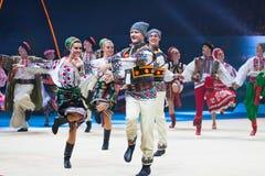 Gala Concert at Rhythmic Gymnastics World Championship Stock Photo