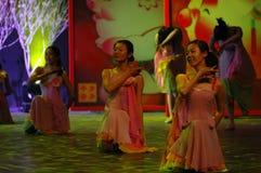Gala de festival de printemps d'amour et de dévouement dance-2007 Jiangxi Photo stock