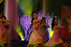 Gala de festival de printemps d'amour et de dévouement dance-2007 Jiangxi Image stock