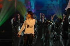 Gala de festival de printemps du bruit singer-2007 Jiangxi photos libres de droits