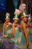 Gala de festival de printemps du cosaque dance-2007 Jiangxi photographie stock libre de droits
