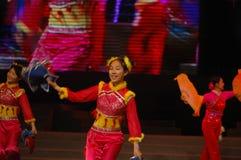 Gala de festival de printemps du mouchoir dance-2007 Jiangxi image stock