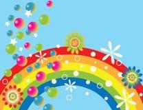 Gala del arco iris Stock de ilustración