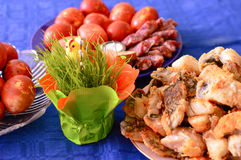 Gala Dinner feast meat hunger dainty Royalty Free Stock Photos