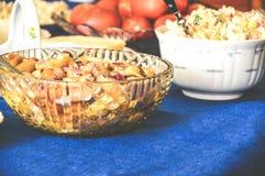 Gala Dinner-sierlijke de honger van het feestvlees stock afbeelding