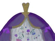Gala Dress Design vector illustration
