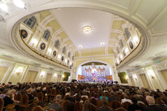 Gala evening dedicated to the 100th anniversary of the All-Russian Museum Association Stock Image