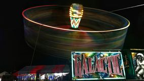 Galactic. Ride Theme Park Amusement stock photos