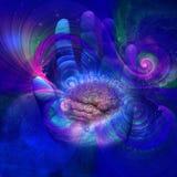 Galactic Mind Stock Image