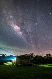 Galactic old house. 1 2 royalty free stock image