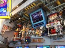 Galactic Pizza Port restaurant at Tomorrow Land. At Tokyo Disneyland royalty free stock images