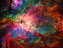 Galactic Space. Elements Stock Photography