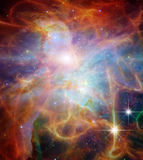 Galactic Space. Elements of this image furnished by NASA Stock Images