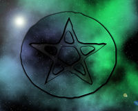 galactica 1 paganus Obrazy Stock