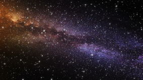 Galactische Prachtlijn stock videobeelden