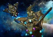 Galactische Rdie, 3d CG Royalty-vrije Stock Afbeelding
