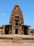 Galaganathatempel, Pattadakal, Karnataka, India stock afbeeldingen
