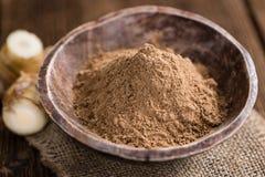 Galaganl Powder (selective focus) Royalty Free Stock Image
