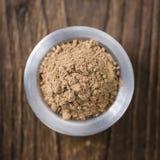 Galaganl Powder (selective focus) Stock Images