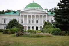 Galaganov slott Sokirintsy som skapas i början Århundrade XIX Arkivfoto