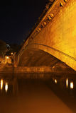 Galaktion Tabidze bro i Tbilisi georgia Royaltyfri Foto