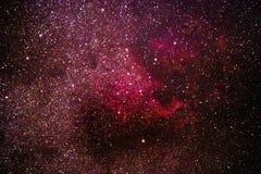 Galaktischer Nebelfleck Stockfotografie