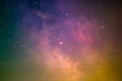 Galaktisches Zentrum Stockbilder