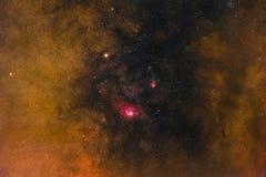 Galaktiskt kärna arkivfoton