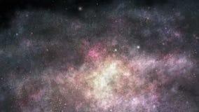 Galaktiskt resa royaltyfri illustrationer