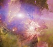 galaktisktt avst?nd royaltyfri illustrationer