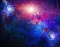 galaktisktt avst?nd stock illustrationer