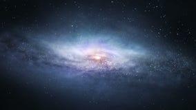 Galaktyczna podróż ilustracja wektor