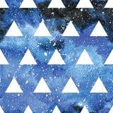 Galaktyka bezszwowy wzór Fotografia Stock