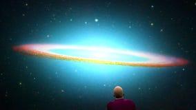Galaktyka dysk royalty ilustracja