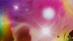 Galaktyka Ssa w Czarną dziurę ilustracja wektor