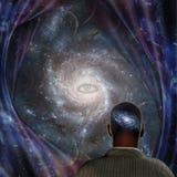 Galaktyka umys? ilustracji