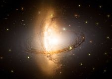 Galaktyka w bezpłatnej przestrzeni Obrazy Stock