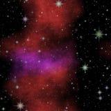 Galaktyki nocnego nieba tekstura z dużo gra główna rolę obrazy stock