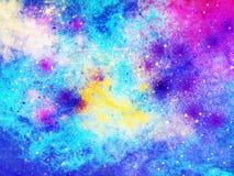Galaktyki tło Obrazy Royalty Free