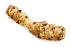 Galangal Isolated on White Stock Photo
