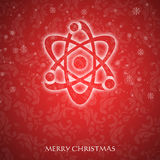 Galanteryjna Kartka bożonarodzeniowa Obraz Stock