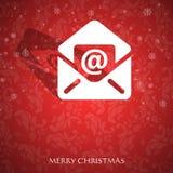 Galanteryjna Kartka bożonarodzeniowa Fotografia Royalty Free